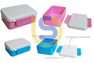 Sublimation Children's Lunch Box 3D Heat Press Vacuum Oven Transfer Print (2 colours)