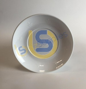 Polymer Saucer (Plastic)  for Dye Sublimation Printing - Dishwasher proof