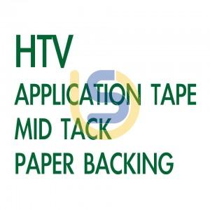 HTV Application / Masking Tape for Heat Transfer Vinyl / Print Media - with Paper Backing