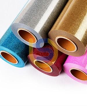 Thermal Transfer Glitter Vinyl Film - 500mm