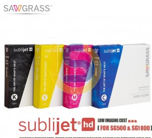 Sawgrass SubliJet UHD Sublimation Ink for SG500/SG1000 31ml STD Capacity