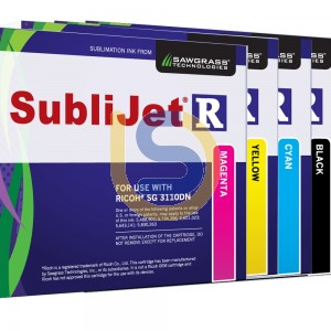 SUBLIJET-R Dye Sublimation Ink Cartridges For SUBLI-TRANS XPRES Ricoh Printer SG 3110DN / SG 7100DN Std Capacity