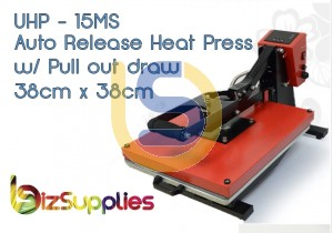 Auto Popup / Release Clamshell Flat Heat Press - 38CMX38CM