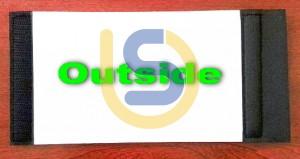 Velcro Wrap Stubby Holder for Dye Sublimation Printing - Standard Size