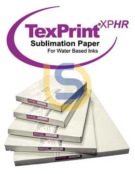 TexPrint XPHR Dye Sublimation Paper A4 size for Desktop Printers 105gsm