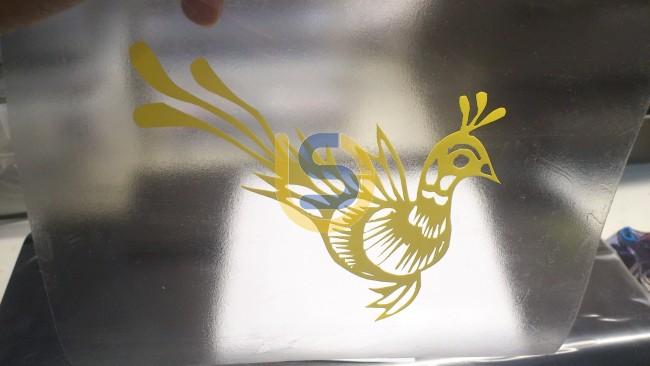 Stencil Protection Film Vinyl For Sandblasting Air