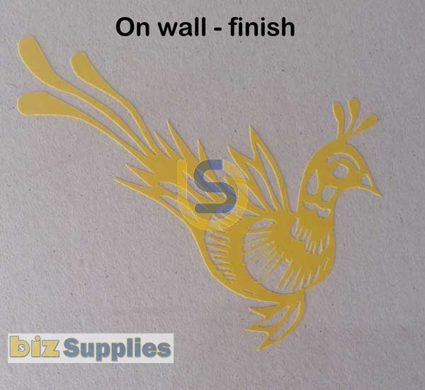Stencil Protection Film Vinyl for Sandblasting - Air Brushing - Template  600mm WIDE