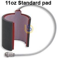 Mug Press Heat Pad Attachment for BLACK Color Mug Press