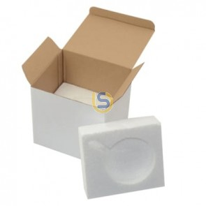 36x White Gift Box with FOAM for 11oz Sublimation Coffee Mugs