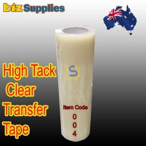 Mid to High Tack Clear Application Tape / Transfer Tape (CODE:004)