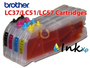 Large Refill Cartridges LC39/LC61 for Brother DCP J215 J315W J515W MFC J265W