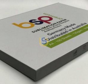 BSP Premium Sublimation Paper 125gsm Instant Dry A4 100 Sheets
