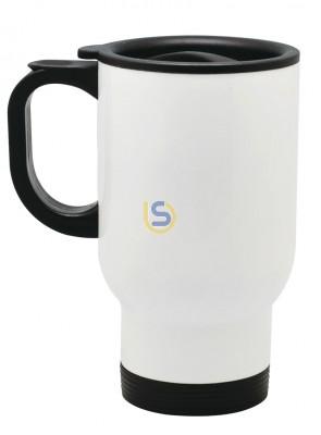 White Sublimation Travel mug