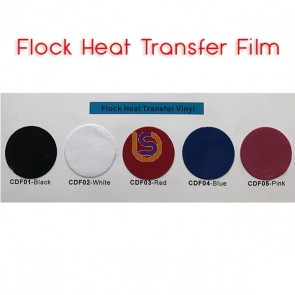 BF-FILM - Flock Thermal Transfer Vinyl Film - 500mm
