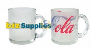 Frosted Glass Mugs for Dye Sublimation Printing