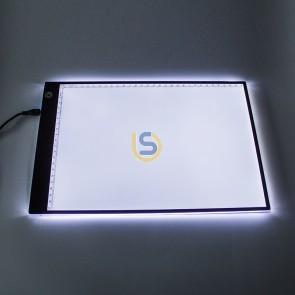 LED Light Pad / Backboard for vinyl weeding - A4