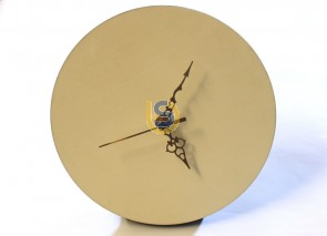 MDF Blank Round Clock for Sublimation Print 20x20cm (8 inches)