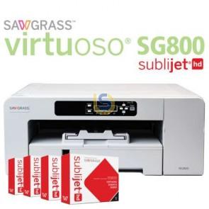 Virtuoso SG800 - A3 Dye Sublimation Printer Starter Kit (Upgraded of Ricoh SG7100)