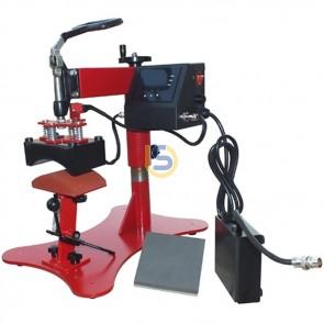2in1 Premium Digital Cap Press and Small Flat Press
