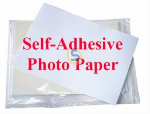 Self Adhesive Photo Paper