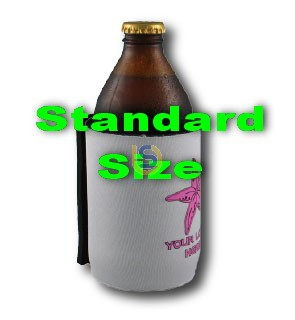 Velcro Wrap Stubby Holder for Dye Sublimation Printing - Standard Size